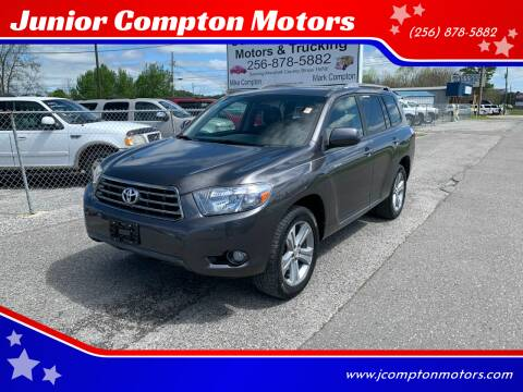2008 Toyota Highlander for sale at Junior Compton Motors in Albertville AL