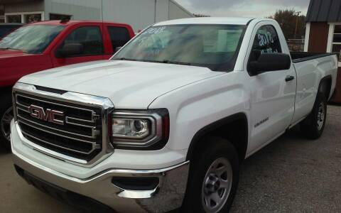 2018 GMC Sierra 1500 for sale at Bob's Garage Auto Sales and Towing in Storm Lake IA