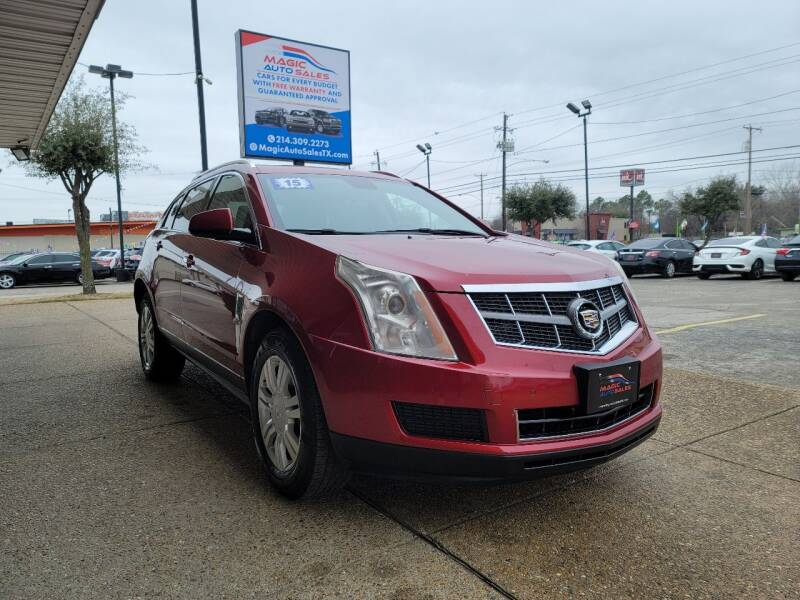 2011 Cadillac SRX for sale at Magic Auto Sales in Dallas TX