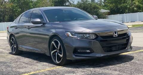 2019 Honda Accord for sale at Guru Auto Sales in Miramar FL