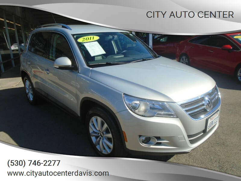 2011 Volkswagen Tiguan for sale at City Auto Center in Davis CA