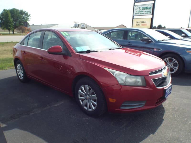 2011 Chevrolet Cruze for sale at G & K Supreme in Canton SD