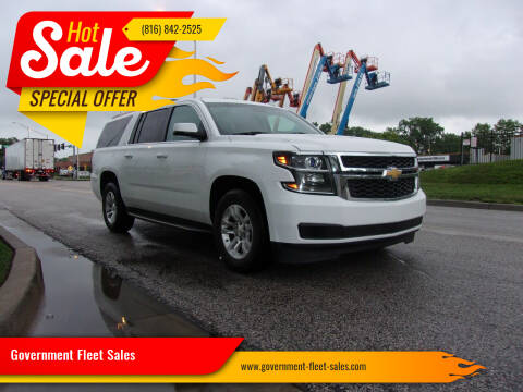 2015 Chevrolet Suburban for sale at Government Fleet Sales in Kansas City MO