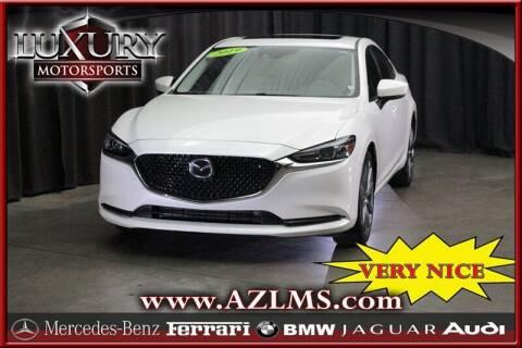 2019 Mazda MAZDA6 for sale at Luxury Motorsports in Phoenix AZ