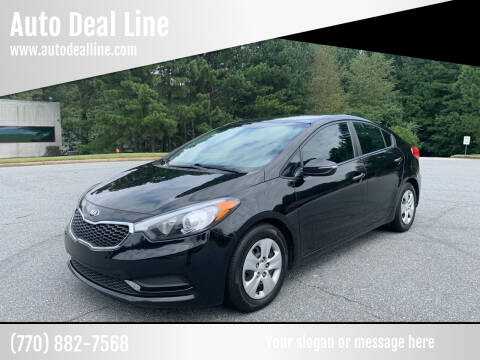 2015 Kia Forte for sale at Auto Deal Line in Alpharetta GA