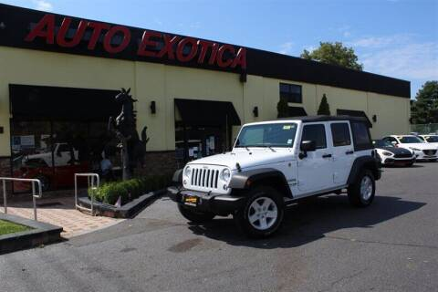 2018 Jeep Wrangler JK Unlimited for sale at Auto Exotica in Red Bank NJ