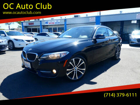 2015 BMW 2 Series for sale at OC Auto Club in Midway City CA