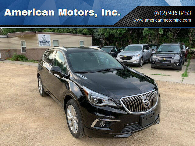 2016 Buick Envision for sale at American Motors, Inc. in Farmington MN