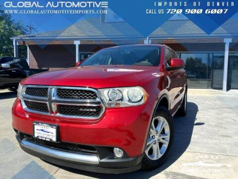 2011 Dodge Durango for sale at Global Automotive Imports of Denver in Denver CO