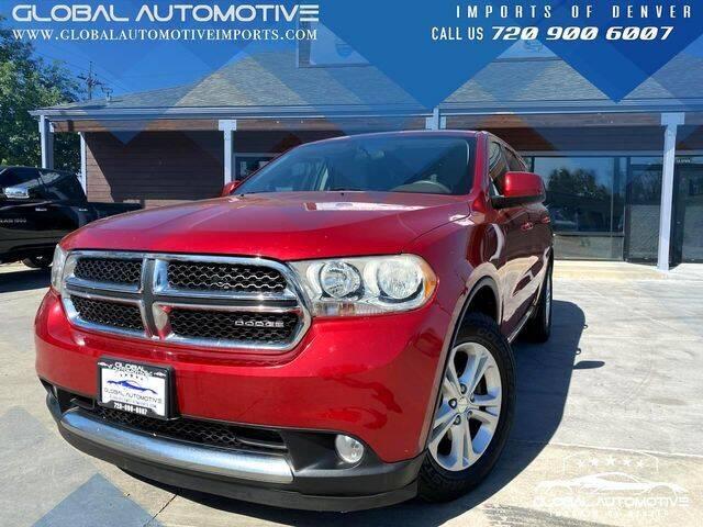 2011 Dodge Durango for sale at Global Automotive Imports of Denver in Denver CO