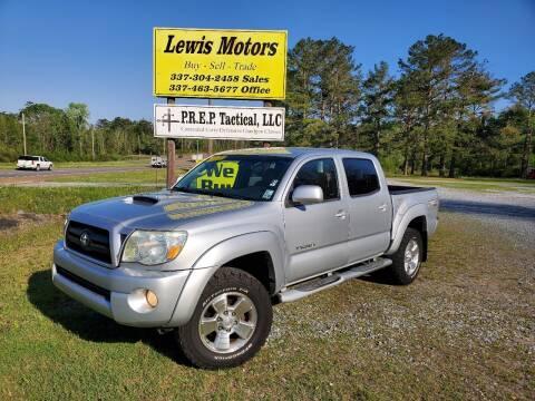 2008 Toyota Tacoma for sale at Lewis Motors LLC in Deridder LA