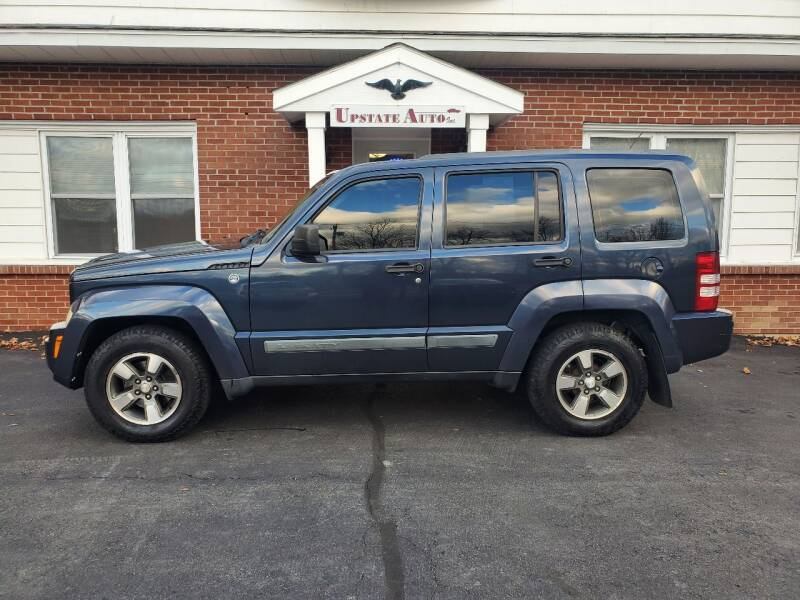 2008 Jeep Liberty for sale at UPSTATE AUTO INC in Germantown NY