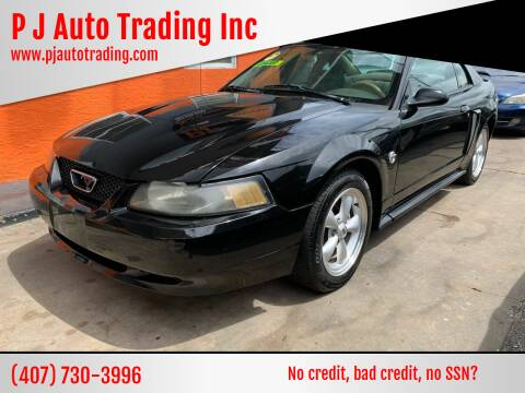 2004 Ford Mustang for sale at P J Auto Trading Inc in Orlando FL