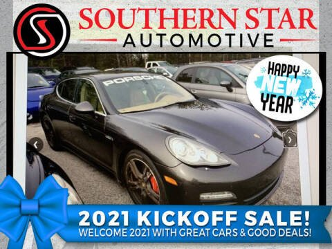 2010 Porsche Panamera for sale at Southern Star Automotive, Inc. in Duluth GA
