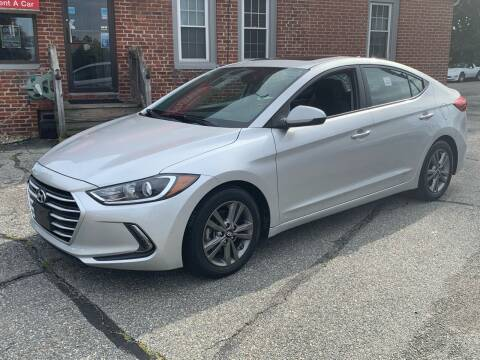 2017 Hyundai Elantra for sale at Ludlow Auto Sales in Ludlow MA