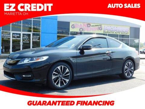 2016 Honda Accord for sale at Pioneer Family preowned autos in Williamstown WV