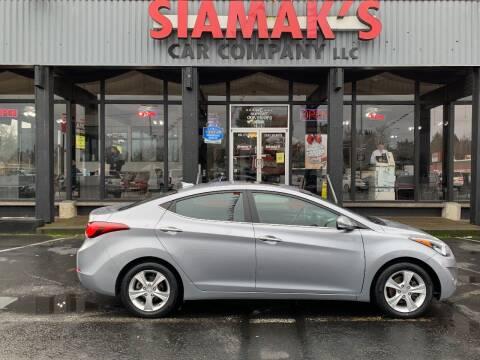 2016 Hyundai Elantra for sale at Siamak's Car Company llc in Salem OR