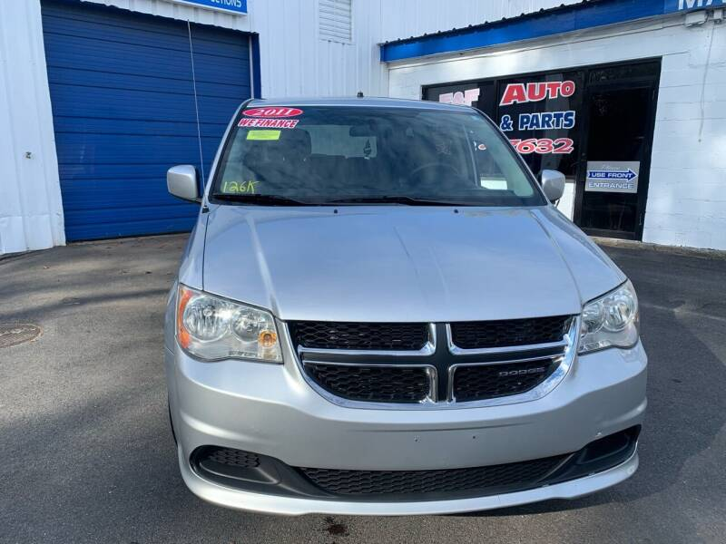 2011 Dodge Grand Caravan for sale at F&F Auto Inc. in West Bridgewater MA