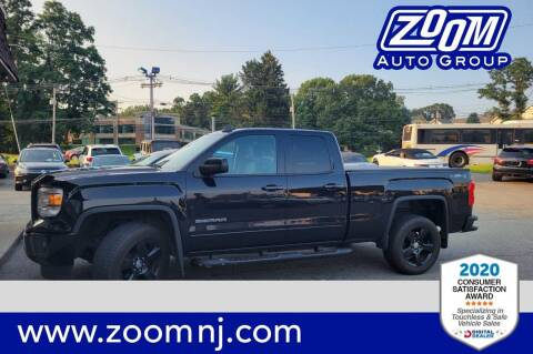 2015 GMC Sierra 1500 for sale at Zoom Auto Group in Parsippany NJ