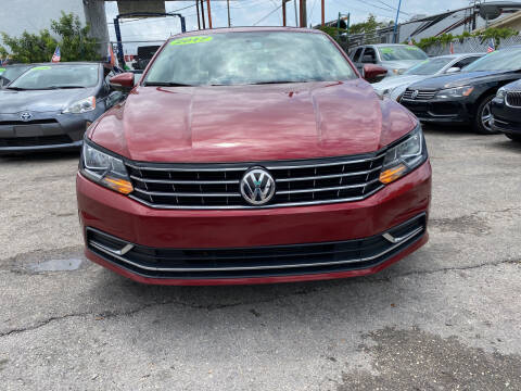 2017 Volkswagen Passat for sale at INTERNATIONAL AUTO BROKERS INC in Hollywood FL