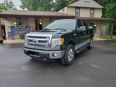 2013 Ford F-150 for sale at BIG #1 INC in Brownstown MI