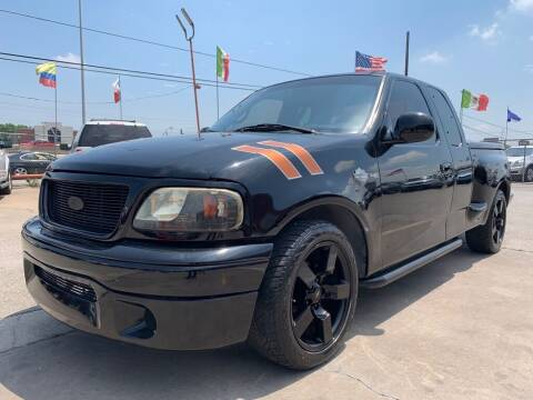 2000 Ford F-150 for sale at JAVY AUTO SALES in Houston TX