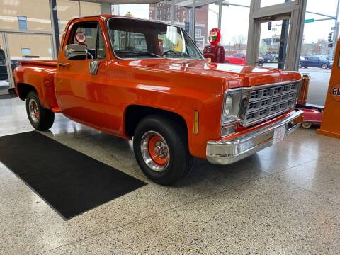 1977 Chevrolet Silverado 1500 SS Classic for sale at Klemme Klassic Kars in Davenport IA