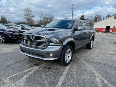 2013 RAM Ram Pickup 1500 for sale at Dean's Auto Sales in Flint MI