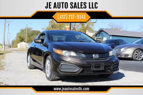 2014 Honda Civic for sale at JE AUTO SALES LLC in Webb City MO