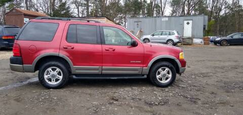 2002 Ford Explorer for sale at Cumberland Used Auto Parts in Marietta GA