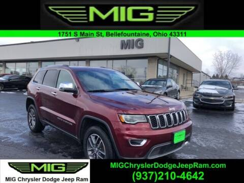 2017 Jeep Grand Cherokee for sale at MIG Chrysler Dodge Jeep Ram in Bellefontaine OH