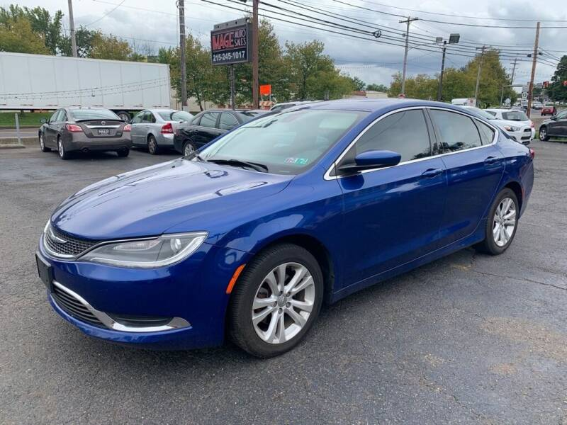 2015 Chrysler 200 for sale at Image Auto Sales in Bensalem PA