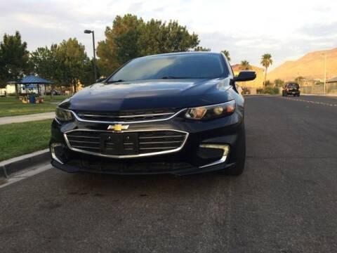 2016 Chevrolet Malibu for sale at Del Sol Auto Sales in Las Vegas NV
