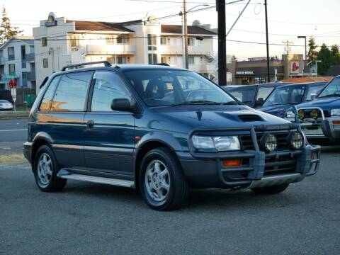1995 Mitsubishi RVR Turbo AWD MT5 EVO-1 for sale at JDM Car & Motorcycle LLC in Seattle WA