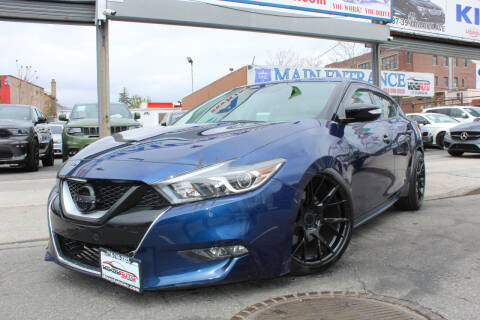 2017 Nissan Maxima for sale at MIKEY AUTO INC in Hollis NY