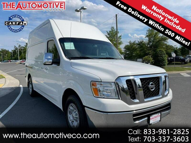 2012 Nissan NV Cargo for sale in Chantilly, VA
