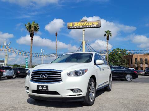 2014 Infiniti QX60 for sale at A MOTORS SALES AND FINANCE in San Antonio TX