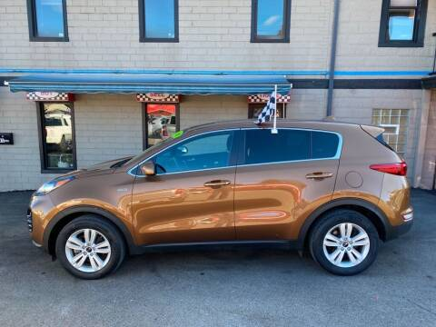 2018 Kia Sportage for sale at Sisson Pre-Owned in Uniontown PA