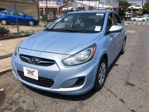 2013 Hyundai Accent for sale at GARET MOTORS in Maspeth NY