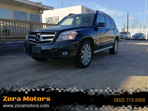 2011 Mercedes-Benz GLK for sale at Zora Motors in Houston TX