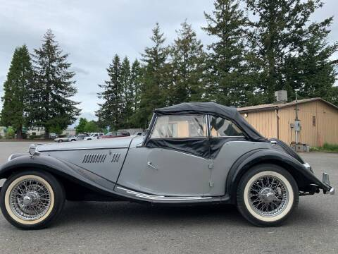 1954 MG TF for sale at Classic Car Addiction in Marysville WA