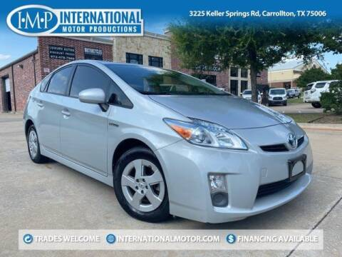 2010 Toyota Prius for sale at International Motor Productions in Carrollton TX