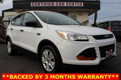 2013 Ford Escape for sale at CERTIFIED CAR CENTER in Fairfax VA