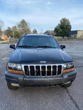 2002 Jeep Grand Cherokee for sale at Affordable Dream Cars in Lake City GA