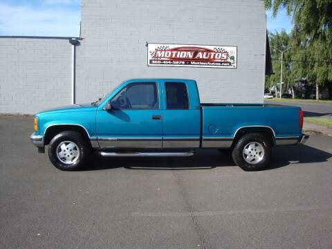 1995 GMC C/K 1500 Series for sale at Motion Autos in Longview WA