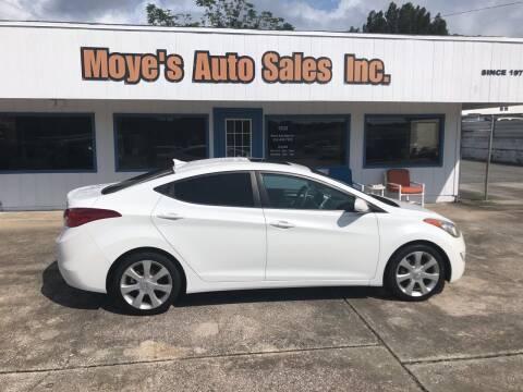 2012 Hyundai Elantra for sale at Moye's Auto Sales Inc. in Leesburg FL