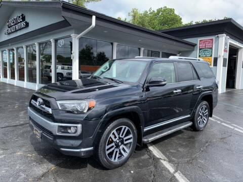 2018 Toyota 4Runner for sale at Prestige Pre - Owned Motors in New Windsor NY