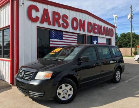 2008 Dodge Grand Caravan for sale at Cars On Demand in Pasadena TX