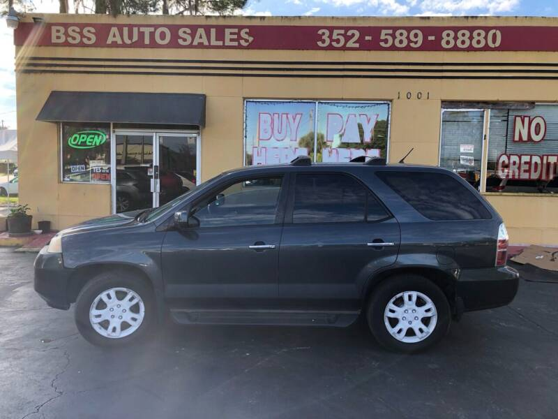 2004 Acura MDX for sale at BSS AUTO SALES INC in Eustis FL