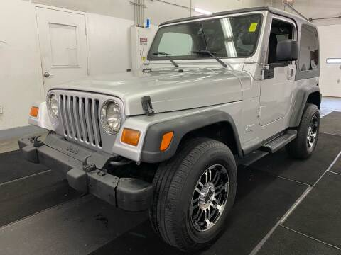2003 Jeep Wrangler for sale at TOWNE AUTO BROKERS in Virginia Beach VA